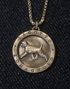 "Sterling silver medallion in two sizes. This is the commemorative design created specifically for the 10th Anniversary of LRCA.  Pendant size is approx. 1"" in diameter. Charm bracelet size is approx. 34 in diameter.  (Necklacebracelet not included). Items are custom designed and created in small batches.  Allow 5 - 6 weeks for delivery.  (Prices include shipping)   Pendant size  $75.00 Charm size  $65.00"